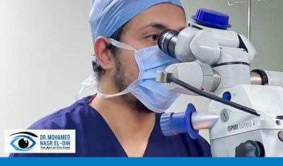 عملية حقن العين لعلاج الارتشاح